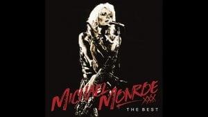 "MICHAEL MONROE ""The Best"" album cover"