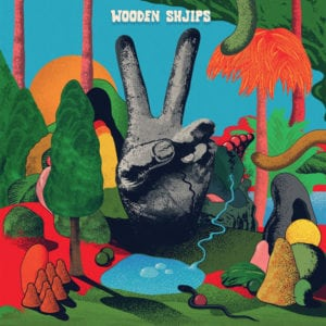 "WOODEN SHJIPS ""V."" cover art"