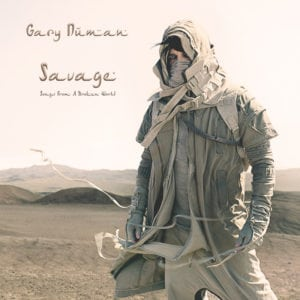"Gary Numan album cover ""Savage (Songs From A Broken World)"