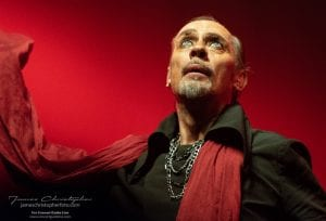 Peter Murphy of Bauhaus; photo James Christopher