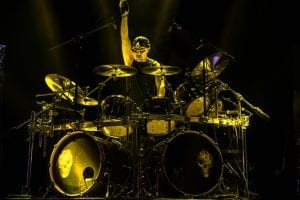 Scott Rockenfield of Queensryche; photo Reuben Martinez