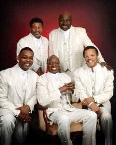 THE SPINNERS; press photo