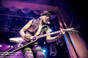 Michael Schenker Fest; photo James Christopher