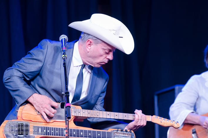 JUNIOR BROWN plays The Coach House Sep. 13; photo James Christopher