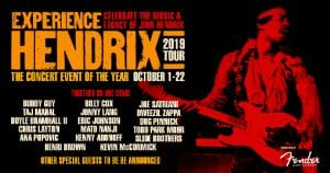 Experience Hendrix poster 2019 Fall