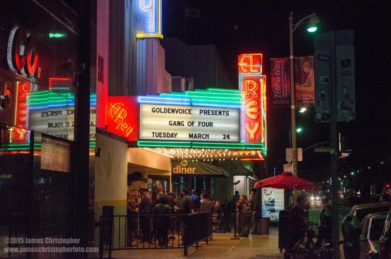 Gang of Four @ El Rey Theatre Mar 24