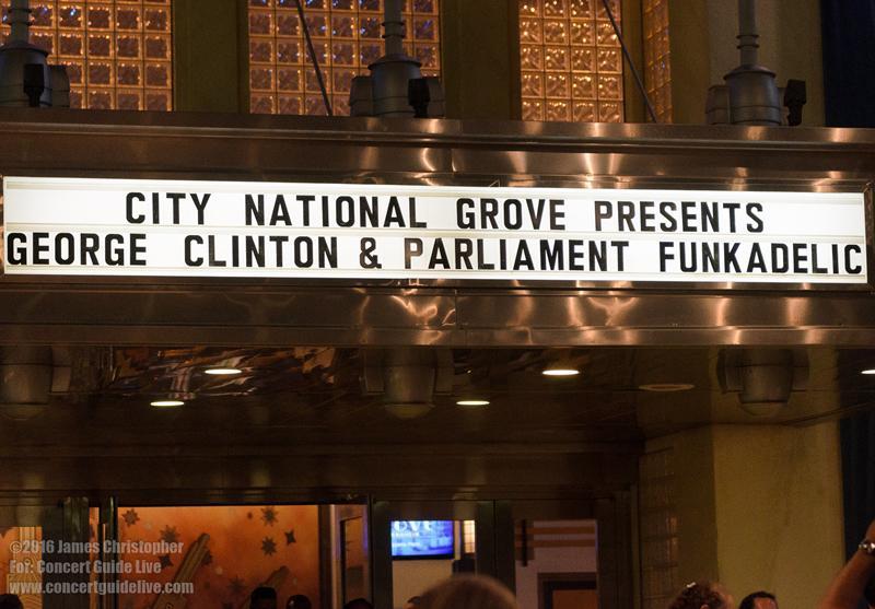 George Clinton @ Grove of Anaheim Jun 25