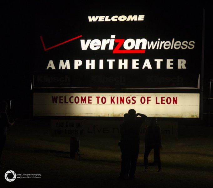 Kings of Leon @ Verizon Amphitheater Oct 5