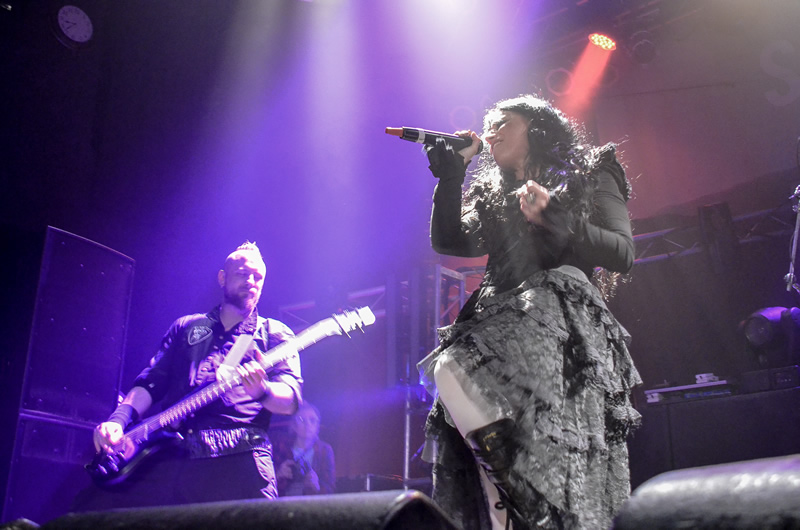 Lacuna Coil @ HOB Anaheim March 20