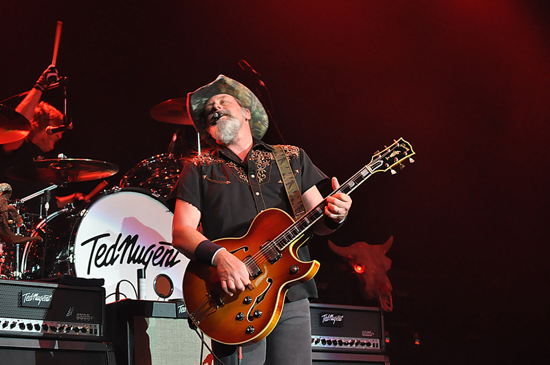 Ted Nugent @ The Grove July 17