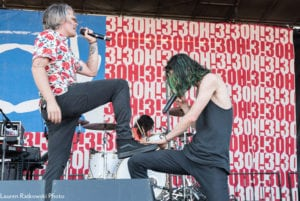 3OH!3-Warped Tour 2018/Pomona; photo Lauren Ratkowski