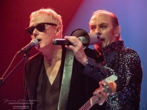 David J and Peter Murphy of Bauhaus; photo James Christopher