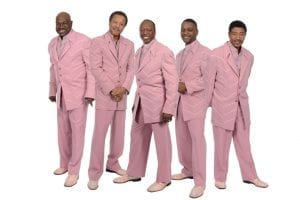 THE SPINNERS play The Rose Mar. 8, The Canyon/Agoura Mar. 9, The Coach House Mar. 10; press photo