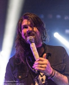 Adam Lazzara-TAKING BACK SUNDAY; photo Lauren Ratkowski