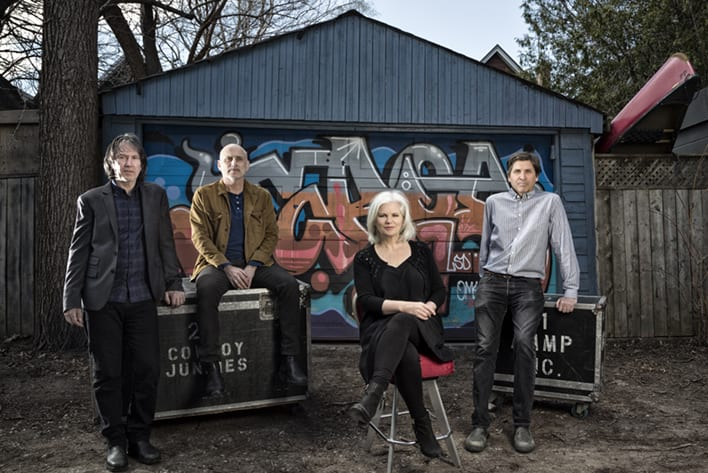 COWBOY JUNKIES play The Coach House May 17, Observatory/North Park May 18, Fonda Theatre May 19; photo Heather Pollock