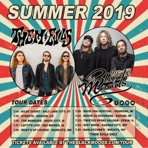 THE BLACK MOODS summer tour 2019