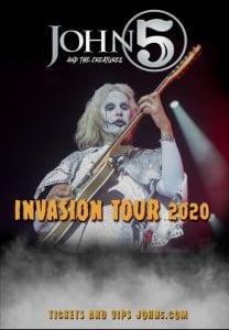 Invasion Tour 2020 dates
