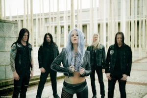 ARCH ENEMY play Observatory/Santa Ana Oct. 24 and Hollywood Palladium Oct. 26; press photo