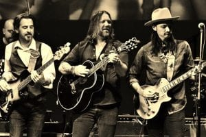 The Allman Betts Band; press photo
