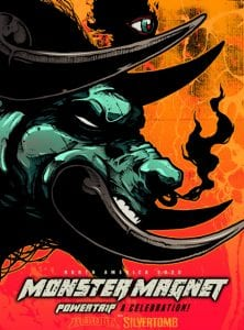 Monster Magnet Powertrip tour poster 2020