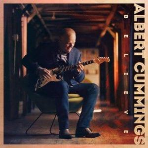 "Albert Cummings album cover art for ""Believe"""