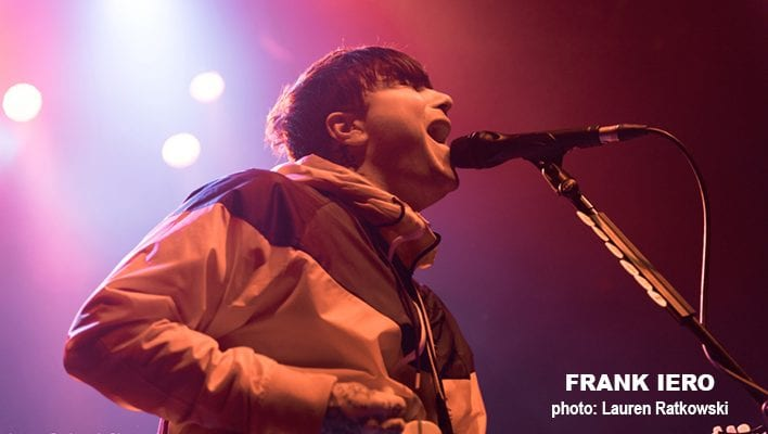 FRANK IERO; photo Lauren Ratkowski