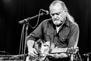 TINSLEY ELLIS plays The Coach House Mar. 8; photo James Christophe