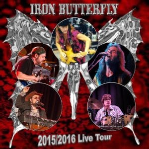 Iron Butterfly 2015/2016 promo graphic