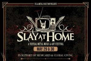 Slay At Home graphic