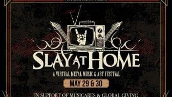 Slay At Home graphic