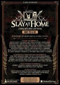 Slay At Home lineup