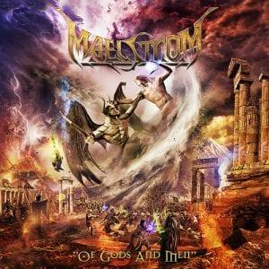 """MaelstroM """"Of Gods And Men"""" album cover"""