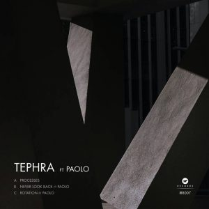Tephra - Process EP cover art